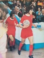 Goal Football Magazine A4 Player Pictures Liverpool Footballers - Various Lot 02