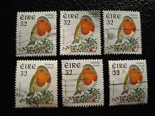 IRLANDE - timbre yvert et tellier n° 980 x6 obl (A31) stamp ireland (A)