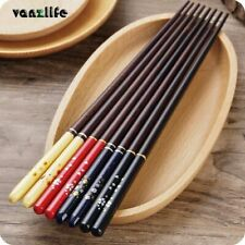 Japanese Cherry Wooden Chopsticks Pointed Domestic Tableware Long Creative