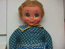 Vintage 1967 Mattel Mrs Beasley Doll With Apron,Collar She Talks As Is
