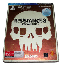 Resistance 3 Special Edition Steelbook Sony PS3