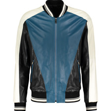 DOLCE & GABBANA Leather Jacket - IT 48/UK 38/US 38/EU 44/JP M
