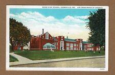 Evansville,IN Indiana Bosse High School used 1936