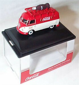 VW T1 Van Bottle Coca Cola 1-76 Scale New in case 76VWS007CC