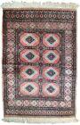 Handmade vintage Uzbek Bukhara rug 2.6' x 3.8' (81cm x 118cm) 1960s - 1C618