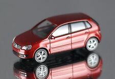 Wiking VW Polo rouge (h0, 1:87) article NEUF, SUPERBE PHOTOS regarder!!!
