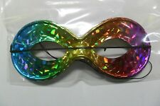 CARNEVALE PAPILLON MASCHERINA MULTICOLORE IRIS MULRICOLOUR MASK UNICA  ART 394