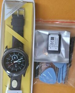 Samsung Galaxy Gear S2 sm-r735t Classic 42mm smartwatch new black leather band