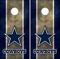 Dallas Cowboys Cornhole Board Decal Wrap Wraps