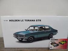 1:18 Biante Holden LC GTR Torana in Toarmina Aqua , Brock LJ A9X VK HDT