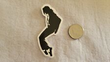 MJ Black and White Dancing Sticker Decal