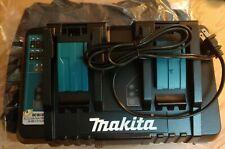 NEW Makita DC18RD Lithium-Ion Dual Port Rapid Optimum Charger W  MAKITA TOOL BAG