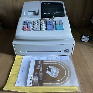 Sharp XE-A102 Cash Register With Keys And Manual - Fully Working