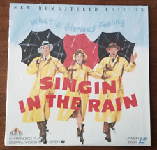 LASERDISC Movie: SINGIN IN THE RAIN - Gene Kelly - Collectible Musical