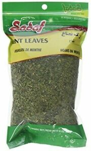 Sadaf Dried Mint Leaves Bag, 3 oz.(85g).