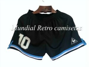 Maradona Argentina world cup 1986 Short pantaloncini home (retro)