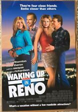 WAKING UP IN RENO MOVIE POSTER 1 Sided ORIGINAL 27x40 CHARLIZE THERON