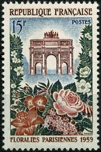 FRANCE 1959 FLORALIES YT n° 1189 Neuf ★★ luxe / MNH
