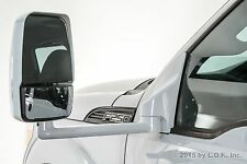 "F250 F350 Towing Pick Up Driver Power White Heat Side View 102"" Body Mirror"