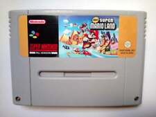 2019 HACK ROM - NEW SUPER MARIO LAND FOR SNES PAL