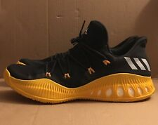 Adidas Crazy Explosive Low Black Yellow Men's Basketball Shoes Size 19 BY4280
