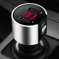 Bluetooth In-Car MP3 FM Wireless Transmitter Dual USB LCD Charger Kit Handsfree