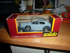 SOLIDO AGE D' OR ROLLS ROYCE 71. MINT BOXED