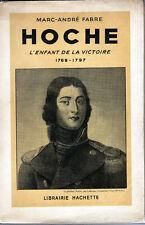 C1 REVOLUTION Fabre HOCHE l Enfant de la Victoire 1768 1797