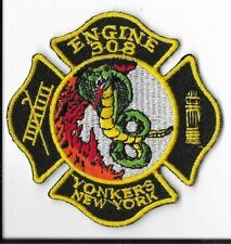 Yonkers Fire Department, New York Engine 308 Patch