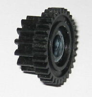 Dual Spur Thermoplastic Gear - 16.9mm / 32T - 12.8mm / 14T - 5mm ID - 8.5mm Thic