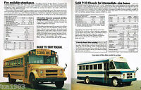 1979 Chevy Trucks SCHOOL BUS Chassis Brochure / Pamphlet:CP30842,CP31042,CP31442