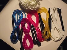5 x NEW SPEED SKIPPING JUMP ROPES, $14.99 ONLY AUS SELLER,