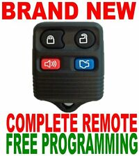 NEW COMPLETE 4BUTTONS REMOTE FOR FORD OEM KEYLESS ENTRY TRANSMITTER FOB CLICKER