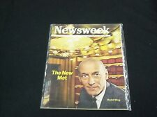 1966 SEPTEMBER 19 NEWSWEEK MAGAZINE - THE NEW MET RUDOLF BING- FRONT COVER-B1061