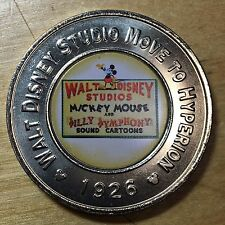 Disney Decades Medal, Move To Hyperion 1926 (#X412)