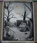 IT'S THE GREAT PUMPKIN CHARLIE BROWN VARIANT POSTER~2015~TIM DOYLE~S&N OF 50