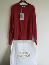 BNWT Vivienne Westwood Cardigan, Wool, Red, UK L (14)