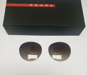 Authentic Replacement Lens for Prada Sunglasses- PR 23SS -Gradient Brown-Size 52