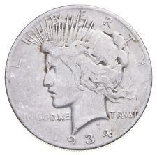 1934-S Peace Silver Dollar - US Coin *482