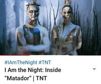 I AM THE NIGHT/MATADOR EPISODE/BODYSUIT SCREEN WORN WARDROBE