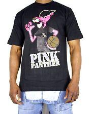 Time Is Money Pink Panther t shirts, rhinestones hiphop bling tees urban, retro