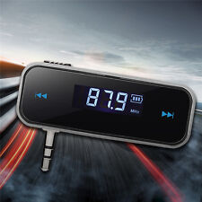 LCD FM Transmitter KFZ PKW LKW Auto Radio für MP3 Player 3,5mm Handy iPhone  HOT