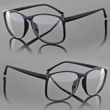 Designer Large Retro Clear Lens Nerd Frames Glasses Men Women Eyewear Fashion