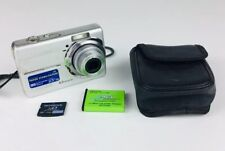 Olympus FE-190 6.0MP Digital Camera - Silver With Case And 1GB Memory Card