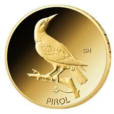 Goldmünze BRD 20 Euro 2017 st Pirol Prägestätte J (Hamburg) 999,9er Gold