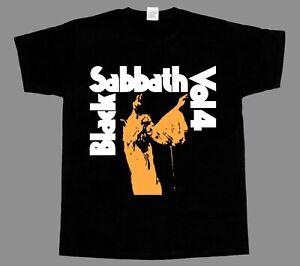 black sabbath vol 4 ozzy osbourne NEW BLACK SHORT/LONG SLEEVE T-SHIRT
