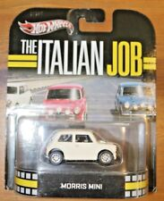 Hot Wheels Retro Entertainment Series Morris Mini White The Italian Job
