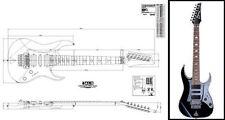Ibanez Universe® 7-String Electric Guitar Plan