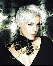 Pink Alecia Moore Autographed 8x10 Signed Photo Reprint