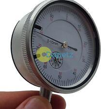 0-10mm Precision externo de medición métricas prueba Dial Gauge indicador Dti Reloj